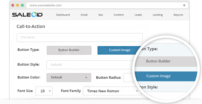 CTA Button Design tool to design, optimize & analyze the CTA button