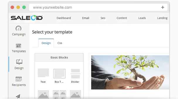 Design a creative & eye-catchy email templates