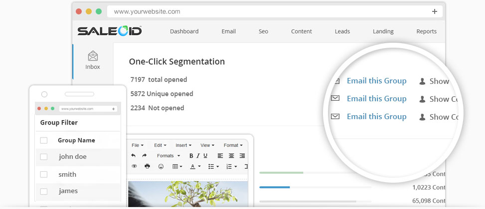 Landing Page design Tool